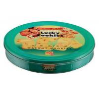 Wholesale Metal Round Biscuit Cookie Metal Tin Box For Food And Gift Packaging from china suppliers