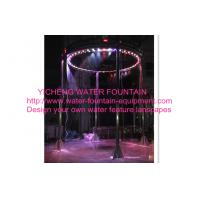 Wholesale Digital Musical Graphical Water Curtain Artificial Waterfall Fountain For Shows from china suppliers