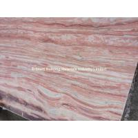Buy cheap Pink Veins Marble Slab, Natural Pink Marble Slab from wholesalers