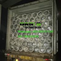 Buy cheap Low carbon steel galvanzied wire wrapped Johnson screens for well drilling from wholesalers