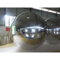 Wholesale 3M PVC Silvery MIirror Inflatable Advertising Ball For Exhibition from china suppliers