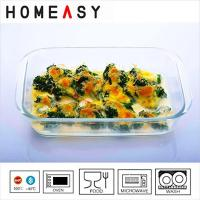 Wholesale Deep Borosilicate Pyrex 9 x 9 Glass Baking Dish Square Baking Pan from china suppliers