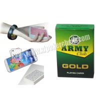 Wholesale India Army Marked Playing Cards For Poker Analyzer Reader from china suppliers
