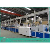 Wholesale White PVC Panel Board Making Machine Decorating Board Extruder Machine 5~25mm Thickness from china suppliers