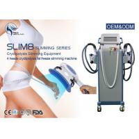 Quality Cryo Weight Loss Fat Freezing Cryolipolysis Machine With 4 Handpieces for sale