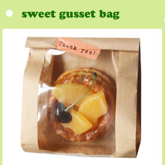 Bag For Bread Bread Brown Kraft Paper In Side Gusset Bag