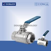 Wholesale FDA / ISO SS304 Two Peice Ball valve With  Female Thread Connection from china suppliers