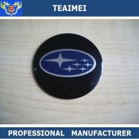 Wholesale 4 PCS Car Logo ABS Chrome Auto Part Car Wheel Sticker For Subaru from china suppliers