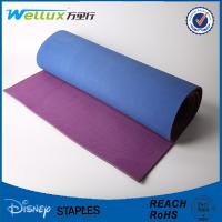 Wholesale Personalized Gym Non Slippery Yoga Mat PU Leather With Rubber 2.5 Mm Thickness from china suppliers