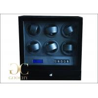 Packaging Multi Watch Winder Box / Electronic Watch Winder 6 Watches + 1 Drawer
