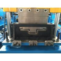 Buy cheap Durable Steel Stud Roll Forming Machine 5.5kw With Film System 15 Stations from wholesalers