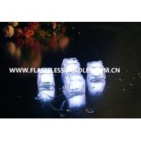 Wholesale Flameless Water Submersible Slow Flashing LED Ice Cubes for Party with On / Off Button from china suppliers