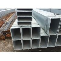 Quality Hollow Square galvanized Tubing , Square Steel Pipe for Cutting / Bending / Drilling hole for sale