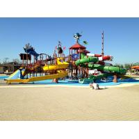 Wholesale Pirate Style Water Playground Equipment Fiberglass Kid Water Slides from china suppliers