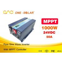 Wholesale Ultra Light Full Walt Solar PV Inverter Off Grid 1000w MPPT Solar Charge Controller from china suppliers