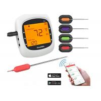 Quality Large LCD Wireless Bluetooth Food Thermometer , Wifi Cooking Thermometer For Kitchen Cooking for sale