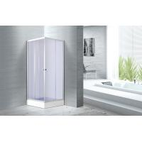 Wholesale 4mm Smoke Glass Convenient Square Bathroom Glass Shower Enclosures Free Standing CE SGS Certification from china suppliers