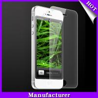 Wholesale 2013 new products tempered glass screen protector for iphone 5 screen guard from china suppliers