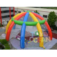 Wholesale Rainbow Giant Inflatable Spider Dome Tent Transparent PVC Event Party Marquee from china suppliers