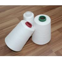 Quality 100% Virgin Fiber 30s/2 Spun Polyester Yarn Raw White Bright For Sewing Thread for sale