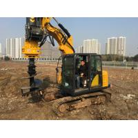 Wholesale Small Rotary Driling Rig Boring Rig for Different Construction Stratum TYSIM KR40A Rotary Piling Rig from china suppliers