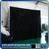 Wholesale events backdrop pipe and drape kits for rental,drapes and curtains from china suppliers