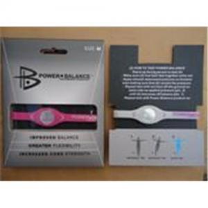 China Power balance wristband on sale