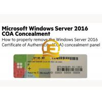 Quality OEM Computer System Softwares , Microsoft Server 2016 Standard DVD 32 64 Bit Sticker for sale
