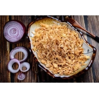 Wholesale Golden 30*30mm No Additives Crispy Hot Dog Onions from china suppliers
