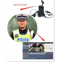 Wholesale H.264 480*234 Police Body Worn Camera With Microphone Mini Camera System from china suppliers