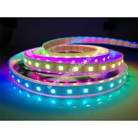 Wholesale DC5V 60led 18w sk9822 built-in ic digital rgb led strip light from china suppliers