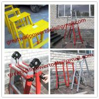Wholesale material Two-section fiberglass ladders, Fiberglass insulating splice ladder from china suppliers