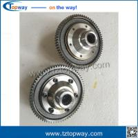 Quality 6 bolts factory made completely new 71-16t India electric rickshaw differential gear for sale