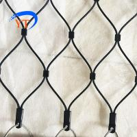 Buy cheap Customized best quality 1.2 mm to 4.0 mm diameter black oxide stainless steel rope wire mesh from wholesalers