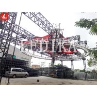 Quality Lightweight Rotating Circle Aluminium Square Trusses For Big Event Circus Show for sale