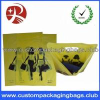 Wholesale Promotional HDPE / LDPE Die Cut Handle Plastic Bags For Shopping , EN13432 from china suppliers