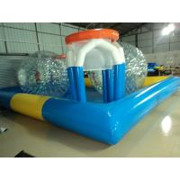 Wholesale Unique Blue 0.9mm PVC Tarpaulin Inflatable Family Pool Eco Friendly from china suppliers