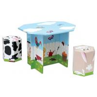 Wholesale Modular Corrugated Cardboard Furniture ENCF012 Kids Set card board chairs from china suppliers