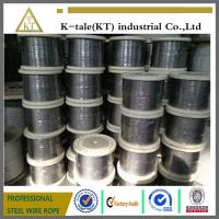 Wholesale 0.65-0.8 Manufacturer of 7mm stainless steel wire rope 1x19 from china suppliers