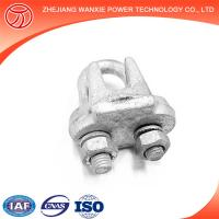 Wholesale Hot-dip galvanized wire rope clips/ guy clips electric cable clamps from china suppliers