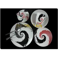 Contemporary Coupe Dinnerware Sets Creative New Designs 100% Food Safe Not Easy To Scald Hands