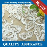 High quality China factory water soluble african lace fabrics wholesale,Fashion african lace fabrics