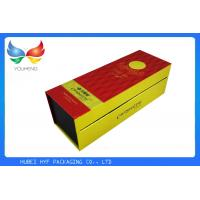 Wholesale Flip Top Embossing Wine Gift Box Paper Packaging Box With Magnetic Catch from china suppliers