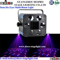 Wholesale 6 Eyes Home Party LED Disco Lights Color Changing LED Lights Electronic dimming from china suppliers