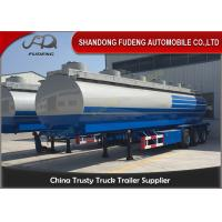 Wholesale Diesel Gasoline Crude Oil Tanker Trailers 35CBM  -  90CBM Q345B Carbon Steel from china suppliers