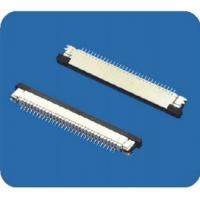 Wholesale 0.8mm pitch FFC/FPC connectors with lock,right angle from china suppliers