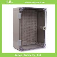 Wholesale 400x300x160mm ip65 outdoor electrical distribution box network distribution box with clear from china suppliers