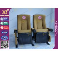 Wholesale UK Standard PU Foam Movie Theaters Seats Anti Rusting Powder Coated Legs from china suppliers