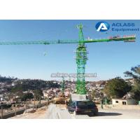 Wholesale HydraulicTower Crane Heavy Equipment with VFD Control Undercarriage Foundation from china suppliers