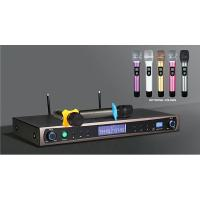 Wholesale Professional SA-880 UHF  Dual Channels wireless microphone system  for karaoke and concert from china suppliers